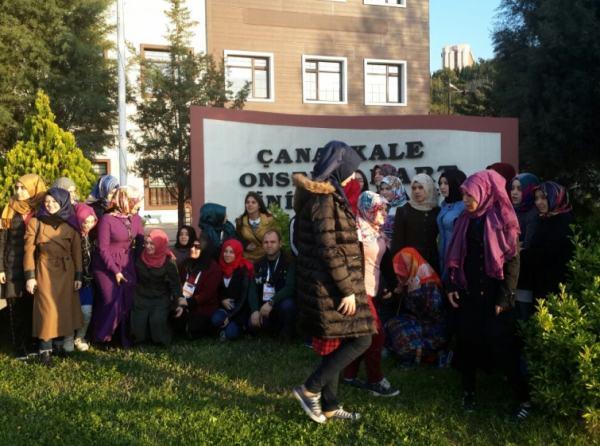 Okulumuzda Uygulanan AB Projesi kapsamında öğrencilere yönelik yapılacak olan  Çanakkale Bursa gezilerinin ilki gerşekleştirildi.